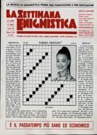 La Settimana Enigmistica Magazine Issue NO 4641