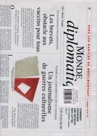 Le Monde Diplomatique Magazine Issue NO 804