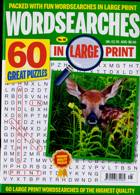 Wordsearches In Large Print Magazine Issue NO 48