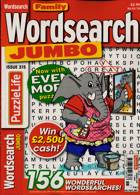 Family Wordsearch Jumbo Magazine Issue NO 315