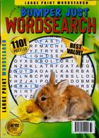 Bumper Just Wordsearch Magazine Issue NO 233