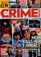 Crime Monthly Magazine Issue NO 24