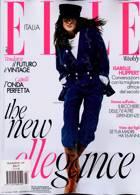 Elle Italian Magazine Issue NO 7