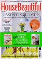 House Beautiful  Magazine Issue APR 21