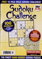 Sudoku Challenge Monthly Magazine Issue NO 202