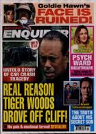 National Enquirer Magazine Issue 15/03/2021
