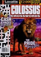 Lovatts Colossus Crossword Magazine Issue NO 352