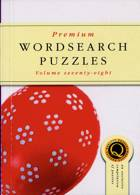 Premium Wordsearch Puzzles Magazine Issue NO 78
