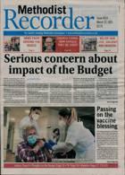 Methodist Recorder Magazine Issue 12/03/2021