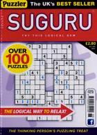 Puzzler Suguru Magazine Issue NO 88