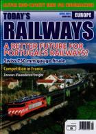 Todays Railways Europe Magazine Issue APR 21