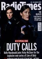 Radio Times London Edition Magazine Issue 20/03/2021