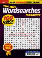 Big Wordsearch Magazine Issue NO 71