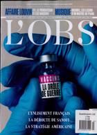 L Obs Magazine Issue NO 2943