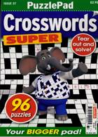 Puzzlelife Crossword Super Magazine Issue NO 37
