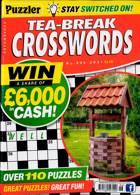 Puzzler Tea Break Crosswords Magazine Issue NO 306