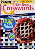 Puzzler Q Coffee Break Crossw Magazine Issue NO 105