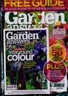 Garden Answers Magazine Issue SPRING