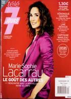 Tele 7 Jours Magazine Issue NO 3174