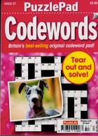 Puzzlelife Ppad Codewords Magazine Issue NO 57