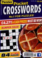 Puzzler Pocket Crosswords Magazine Issue NO 449