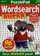 Puzzlelife Wordsearch Super Magazine Issue NO 37