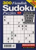 300 Fiendish Sudoku Puzzle Magazine Issue NO 75