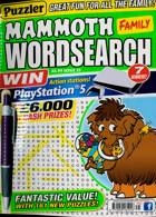 Puzz Mammoth Fam Wordsearch Magazine Issue NO 75