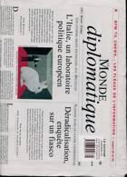 Le Monde Diplomatique Magazine Issue NO 805