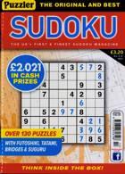 Puzzler Sudoku Magazine Issue NO 214
