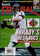 Beckett Nfl Football Magazine Issue APR 21