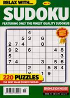 Relax With Sudoku Magazine Issue NO 15
