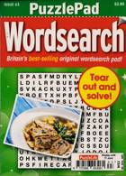Puzzlelife Ppad Wordsearch Magazine Issue NO 63