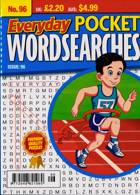 Everyday Pocket Wordsearch Magazine Issue NO 96