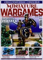 Miniature Wargames Magazine Issue JUL 21
