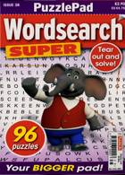 Puzzlelife Wordsearch Super Magazine Issue NO 38