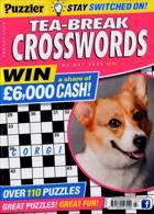 Puzzler Tea Break Crosswords Magazine Issue NO 307