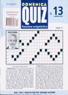 Domenica Quiz Magazine Issue N13