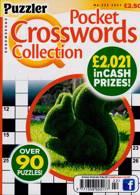 Puzzler Q Pock Crosswords Magazine Issue NO 222