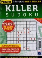 Puzzler Killer Sudoku Magazine Issue NO 183