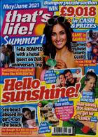 Thats Life Monthly Magazine Issue MAY-JUN