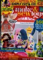 Make And Sew Toys Magazine Issue NO 4