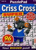 Puzzlelife Criss Cross Super Magazine Issue NO 38