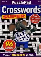 Puzzlelife Crossword Super Magazine Issue NO 38