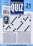 Domenica Quiz Magazine Issue NO 21