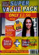 Take A Break Super Value Pack Magazine Issue PACK 19
