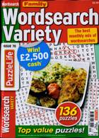 Family Wordsearch Variety Magazine Issue NO 70