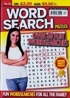 Wordsearch Puzzles Magazine Issue NO 63
