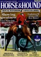 Horse And Hound Magazine Issue 08/07/2021