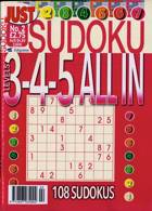 Just Sudoku All In 3 4 5 Magazine Issue NO 2